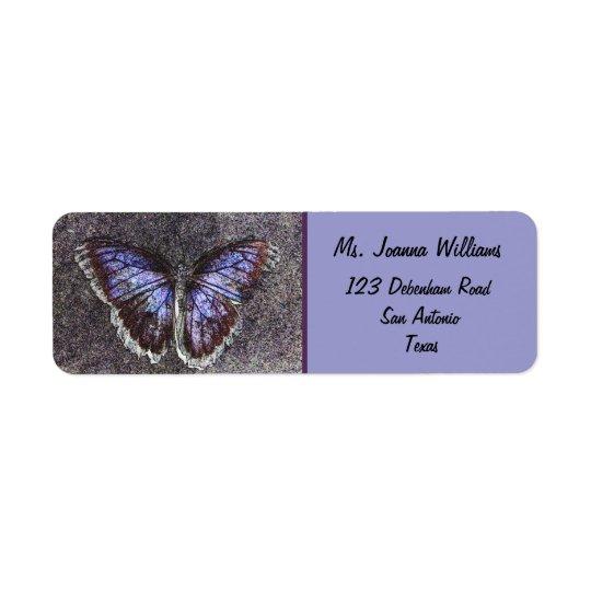 Beautiful Butterfly/Purple.