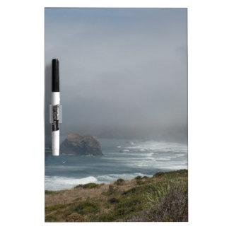 Beautiful California Coast Scenery by the Ocean Dry Erase Board