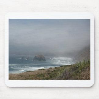 Beautiful California Coast Scenery by the Ocean Mouse Pad