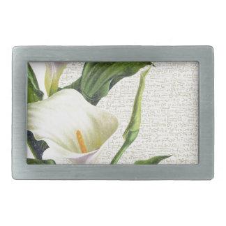 Beautiful Calla Lilies Belt Buckles