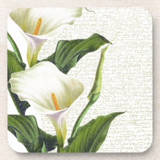Beautiful Calla Lilies Coaster