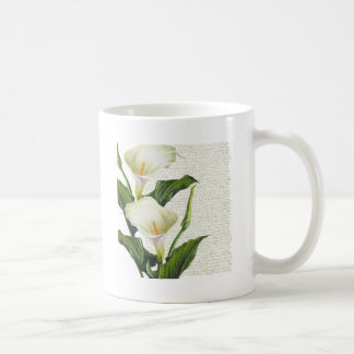 Beautiful Calla Lilies Coffee Mug