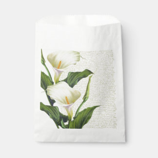 Beautiful Calla Lilies Favour Bag