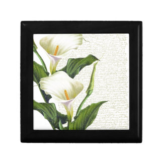 Beautiful Calla Lilies Gift Box