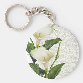 Beautiful Calla Lilies Keychain