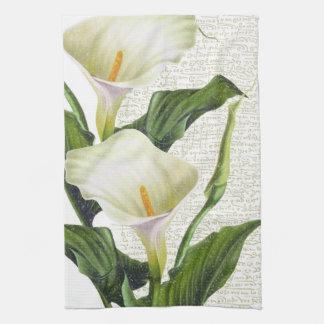 Beautiful Calla Lilies Kitchen Towel