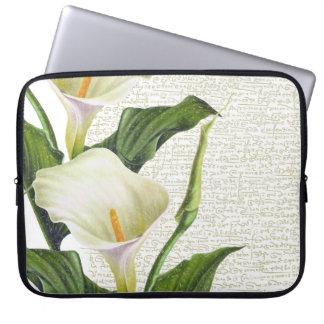 Beautiful Calla Lilies Laptop Sleeve