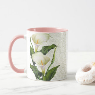 Beautiful Calla Lilies Mug