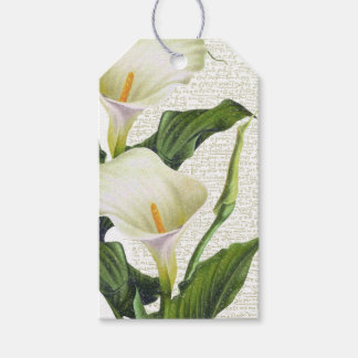 Beautiful Calla Lilies Pack Of Gift Tags