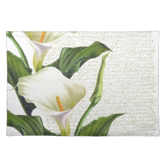 Beautiful Calla Lilies Placemat