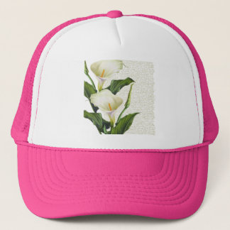 Beautiful Calla Lilies Trucker Hat