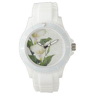 Beautiful Calla Lilies Wrist Watches
