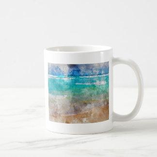 Beautiful Cancun Beach - Watercolor Coffee Mug