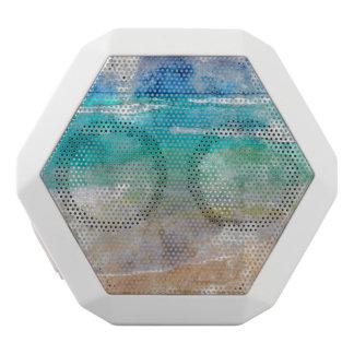 Beautiful Cancun Beach White Bluetooth Speaker