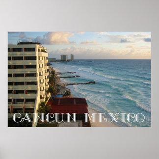 Beautiful Cancun Ocean View Poster
