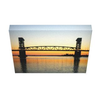Beautiful Cape Fear Bridge Canvas Print