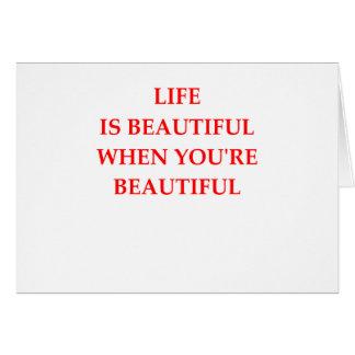 BEAUTIFUL CARD