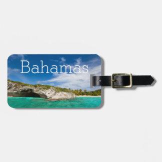 Beautiful Caribbean coast Luggage Tag