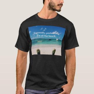 Beautiful Caribbean Waters Humorous Quote T-Shirt