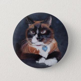 Beautiful Cat 2 Inch Round Button