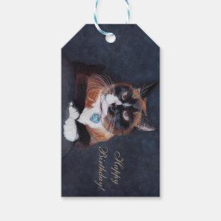 Beautiful Cat Gift Tags