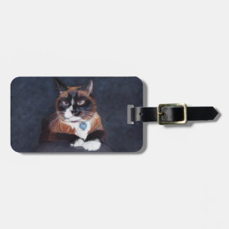 Beautiful Cat Luggage Tag