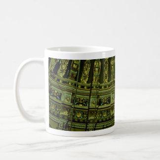 Beautiful Ceiling details in the interior of mosqu Coffee Mug