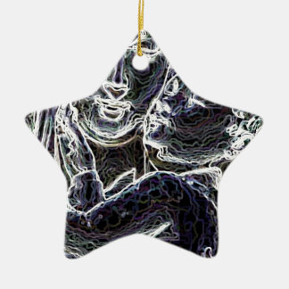 Beautiful Ceramic Star Ornament