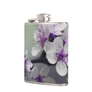 Beautiful Cherry Blossom Hip Flask