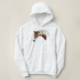 Beautiful Chestnut Tovero Paint Horse Hoodie