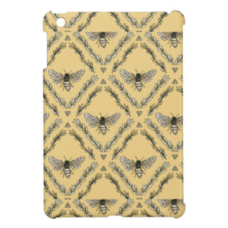 Beautiful Chic Hand-Drawn Bee Pattern iPad Mini Case