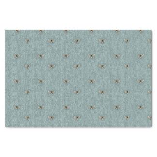 Beautiful Chic Hand-Drawn Bee Pattern Tissue Paper