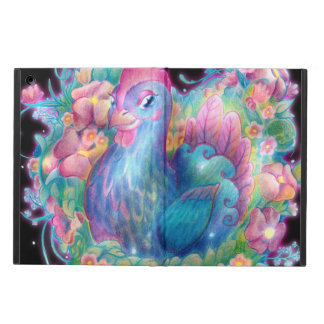 Beautiful Chicken and Flowers Cover For iPad Air