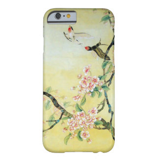 Beautiful Chinese Bird and Flower Artwork Barely There iPhone 6 Case
