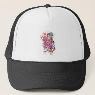 beautiful chinese girl trucker hat