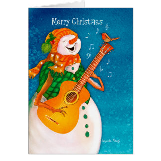 Beautiful christmas card filled with joy happiness