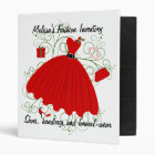 Beautiful Christmas Dress Binder