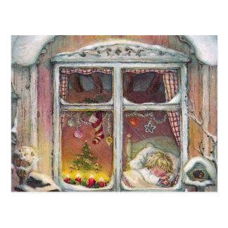 Beautiful Christmas Holiday Gift Postcard