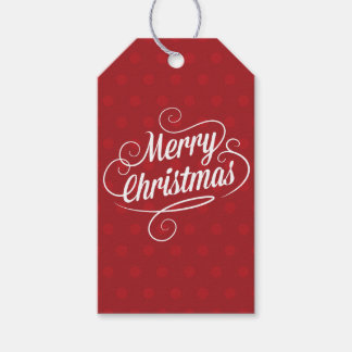 Beautiful Christmas Holiday Pack Of Gift Tags