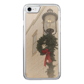 Beautiful Christmas Lantern Carved iPhone 8/7 Case