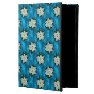 Beautiful Christmas White Poinsettia & Greenery Powis iPad Air 2 Case