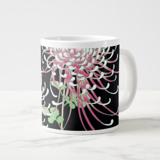Beautiful Chrysanthemum Fine Japanese Floral Large Coffee Mug