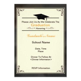 Beautiful Class of 2012 Graduation Invitations