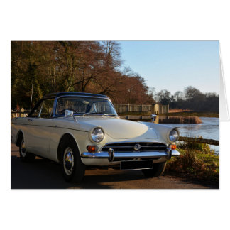 Beautiful Classic Car Occasion Card