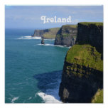 Beautiful Cliffs of Moher Poster