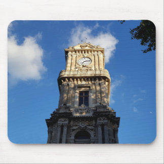 Beautiful Clock Tower at Dolmabahce square Mouse Pad