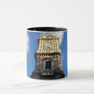 Beautiful Clock Tower at Dolmabahce square Mug