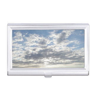 Beautiful Clouds Business Card Holder