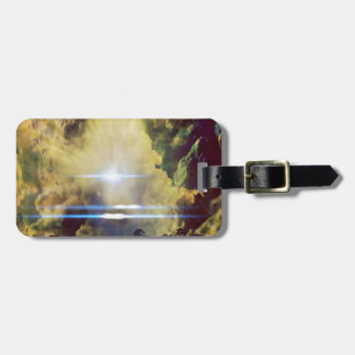 Beautiful Clouds On Planet  Bag Tag