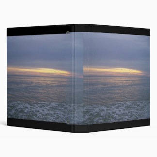 Beautiful Coastal Sunset Binders